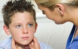 Признаки паротита у детей, симптомы и лечение