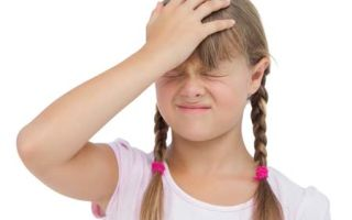 Симптомы и лечение внутричерепного давления у детей
