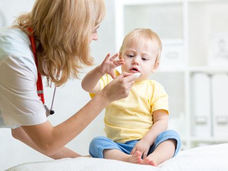Диета при проявлении поллиноза у ребёнка