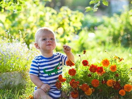 Проявление поллиноза у ребенка