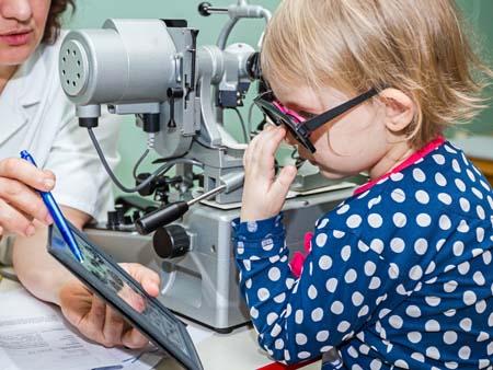 Методы диагностики косоглазия у ребенка
