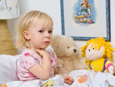 Стеноза гортани у детей